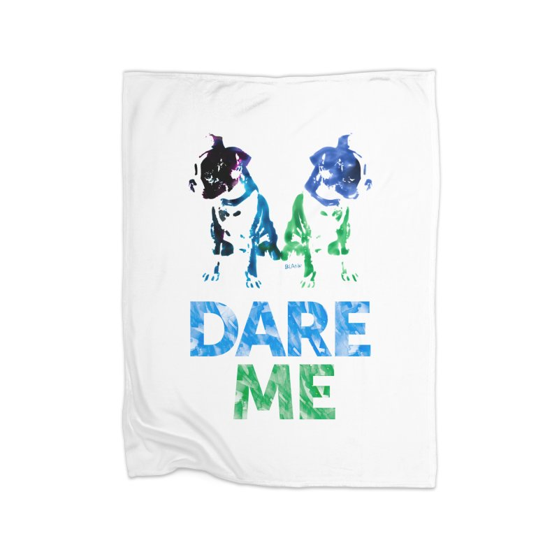 Double Dog Dare Me Home Blanket by Cliff Blank + DOGMA Portraits
