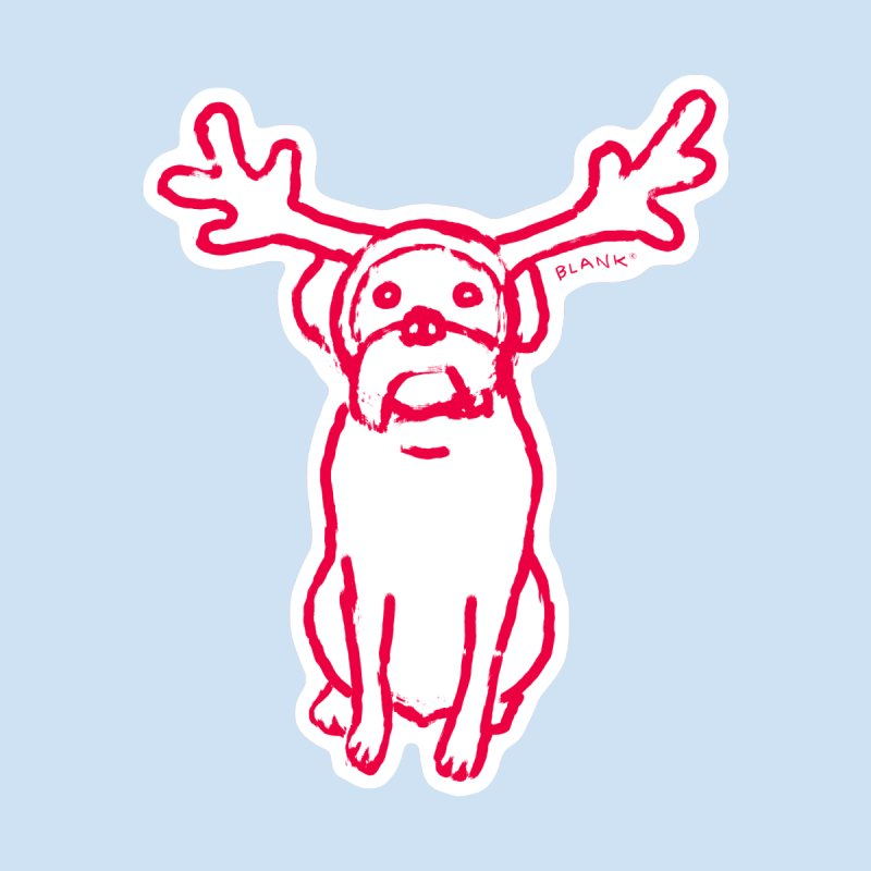 Scamp The Reindeer Dog None  by Cliff Blank + DOGMA Portraits