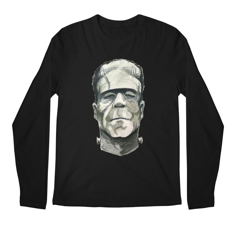 Frank Men's Regular Longsleeve T-Shirt by Blasto's Artist Shop