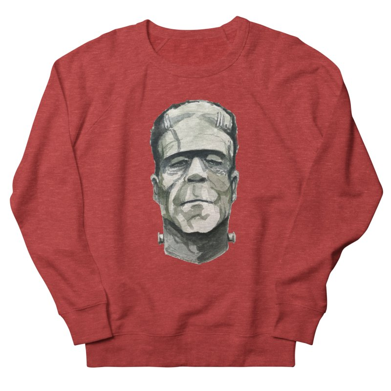 Frank Men's French Terry Sweatshirt by Blasto's Artist Shop