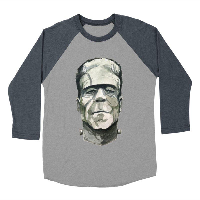 Frank Women's Baseball Triblend Longsleeve T-Shirt by Blasto's Artist Shop
