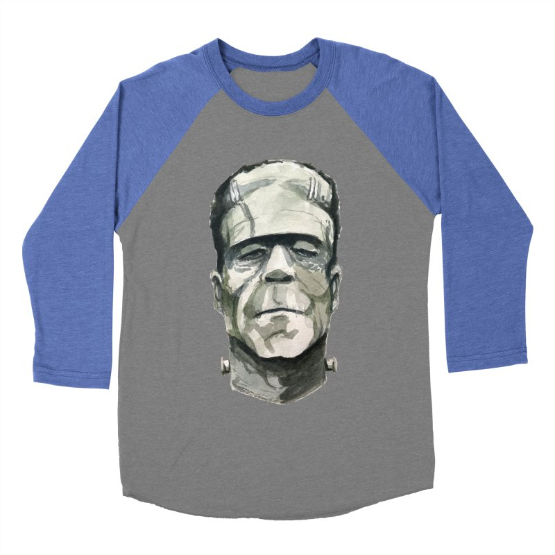 Frank Men's Baseball Triblend Longsleeve T-Shirt by Blasto's Artist Shop