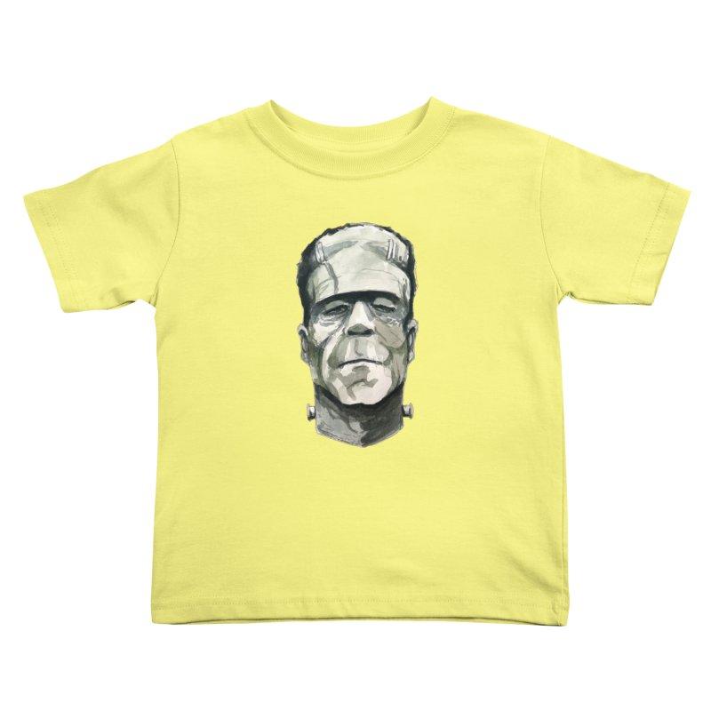 Frank Kids Toddler T-Shirt by Blasto's Artist Shop
