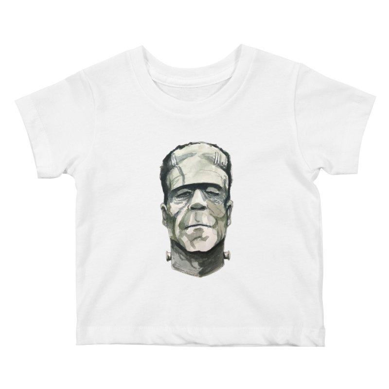 Frank Kids Baby T-Shirt by Blasto's Artist Shop