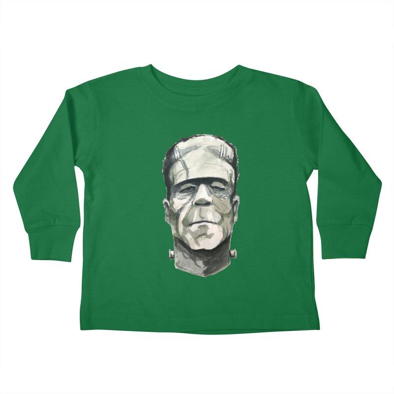 Frank Kids Toddler Longsleeve T-Shirt by Blasto's Artist Shop
