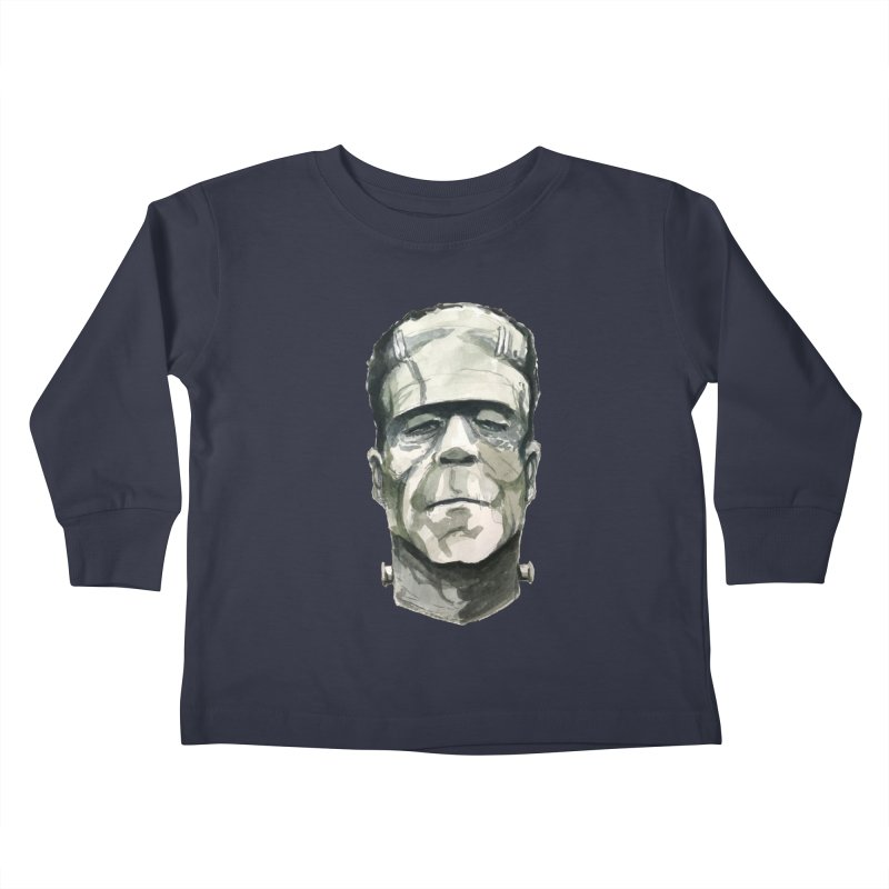 Frank Kids Toddler Longsleeve T-Shirt by Blasto's Artist Shop