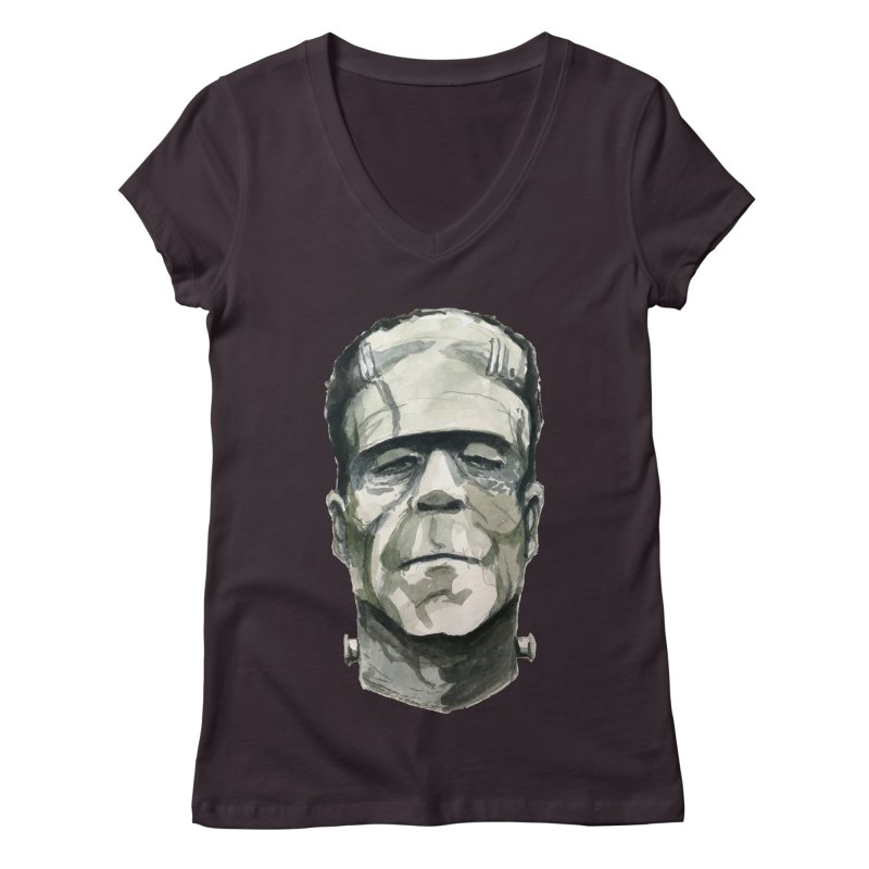 Frank Women's Regular V-Neck by Blasto's Artist Shop