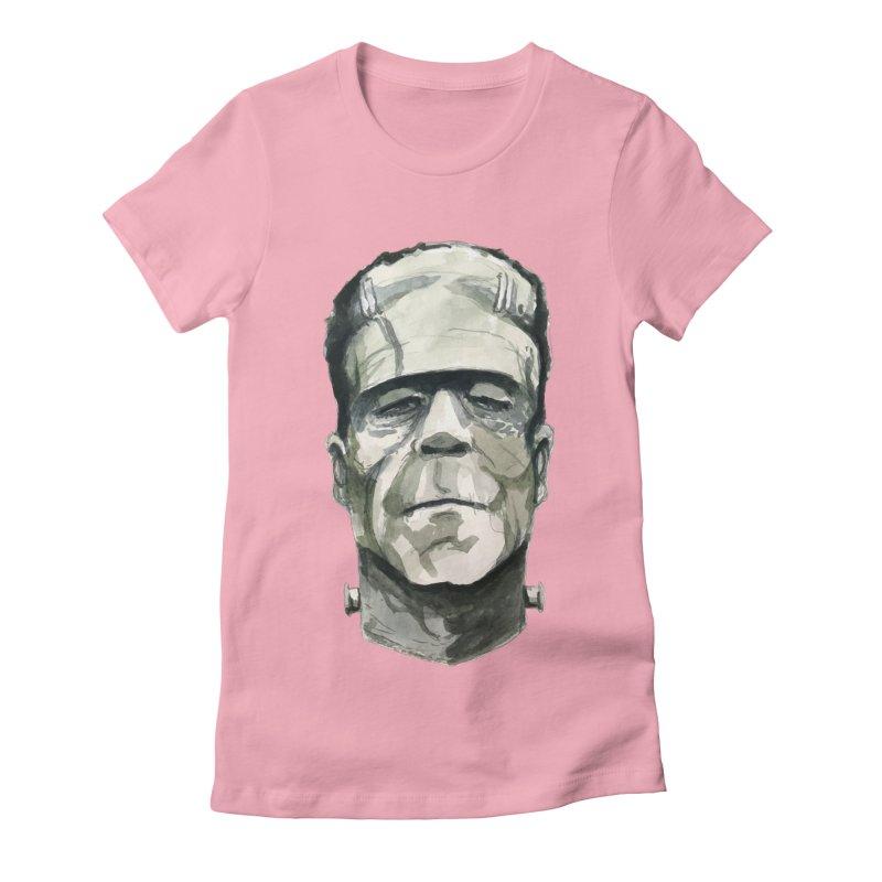 Frank Women's Fitted T-Shirt by Blasto's Artist Shop