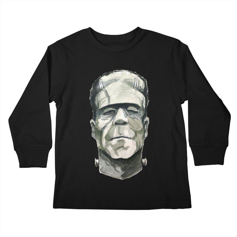 Frank Kids Longsleeve T-Shirt by Blasto's Artist Shop