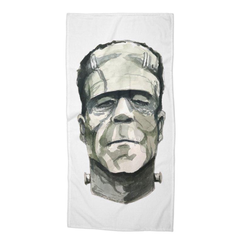 Frank Accessories Beach Towel by Blasto's Artist Shop