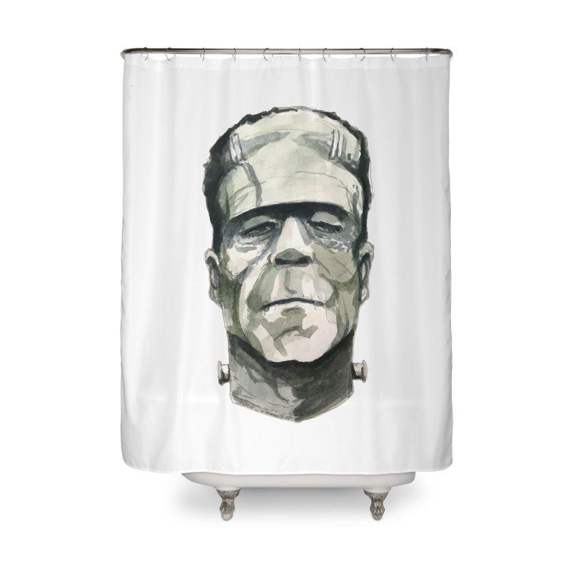 Frank Home Shower Curtain by Blasto's Artist Shop