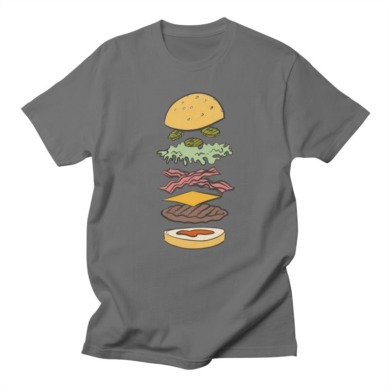 Exploded Bacon Chee Men's T-Shirt by Blasto's Artist Shop
