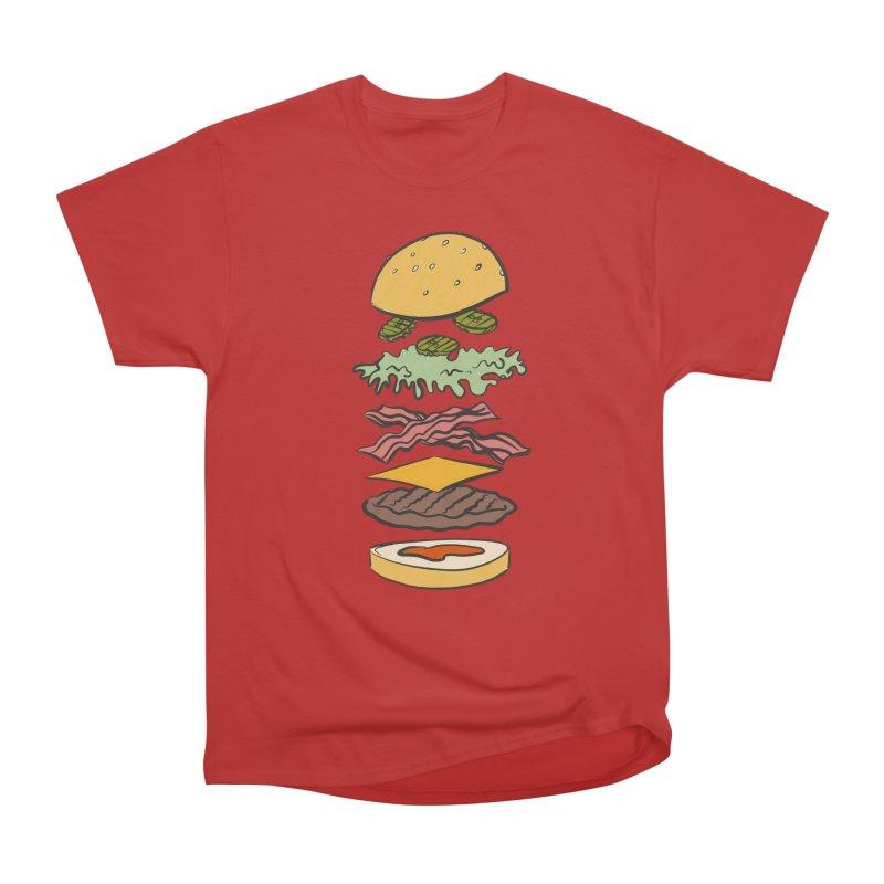 Exploded Bacon Chee Men's Heavyweight T-Shirt by Blasto's Artist Shop