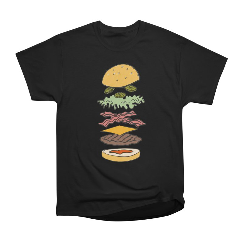 Exploded Bacon Chee Women's Heavyweight Unisex T-Shirt by Blasto's Artist Shop