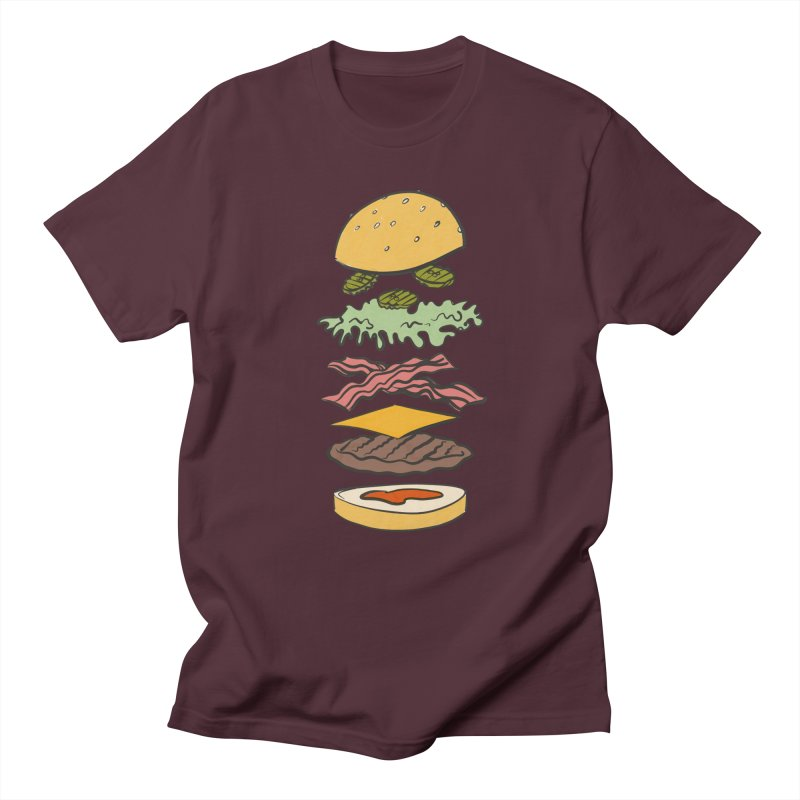 Exploded Bacon Chee Men's Regular T-Shirt by Blasto's Artist Shop