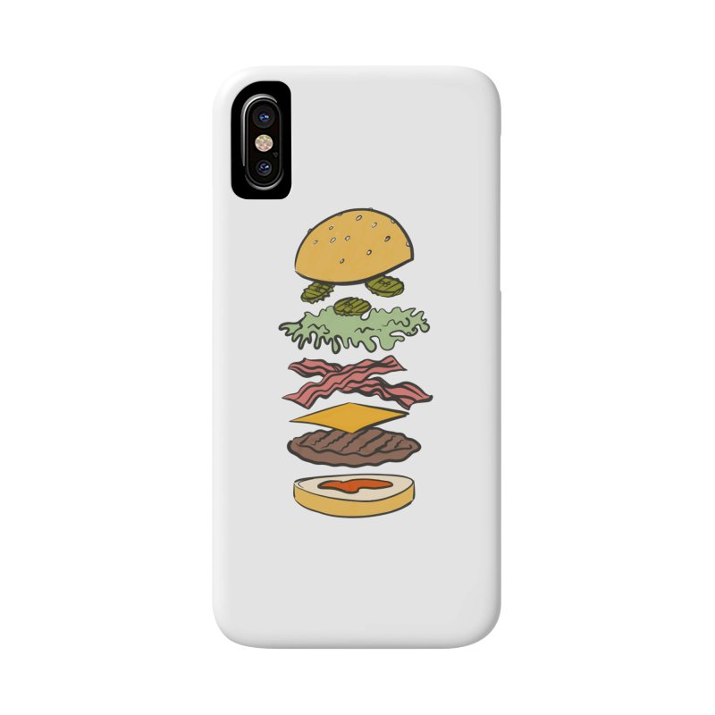 Exploded Bacon Chee Accessories Phone Case by Blasto's Artist Shop