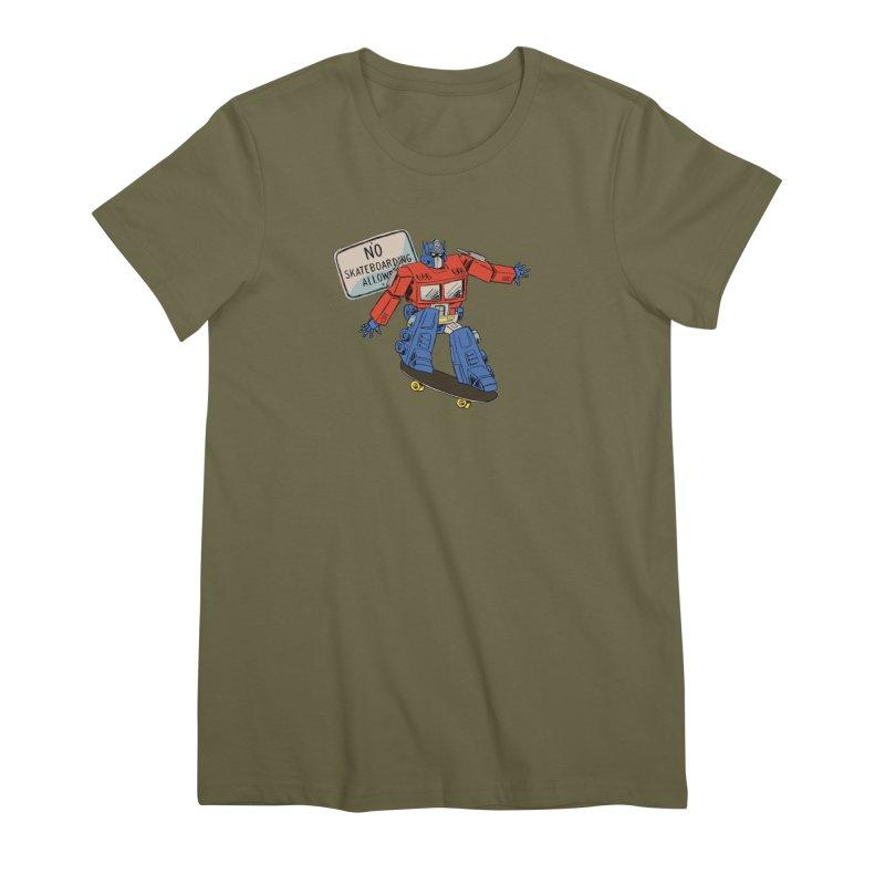 Prime SK8 Women's Premium T-Shirt by Blasto's Artist Shop