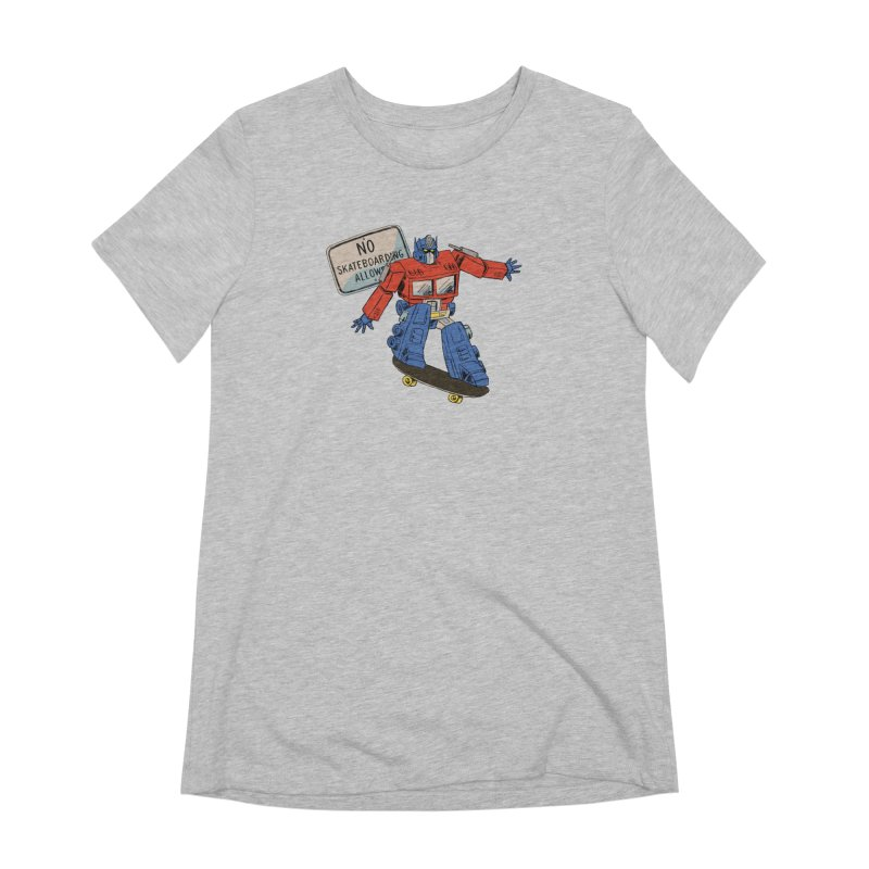 Prime SK8 Women's Extra Soft T-Shirt by Blasto's Artist Shop