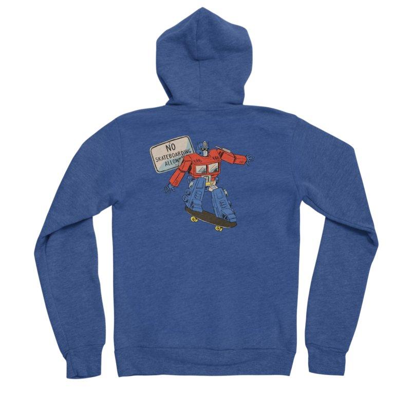 Prime SK8 Men's Sponge Fleece Zip-Up Hoody by Blasto's Artist Shop