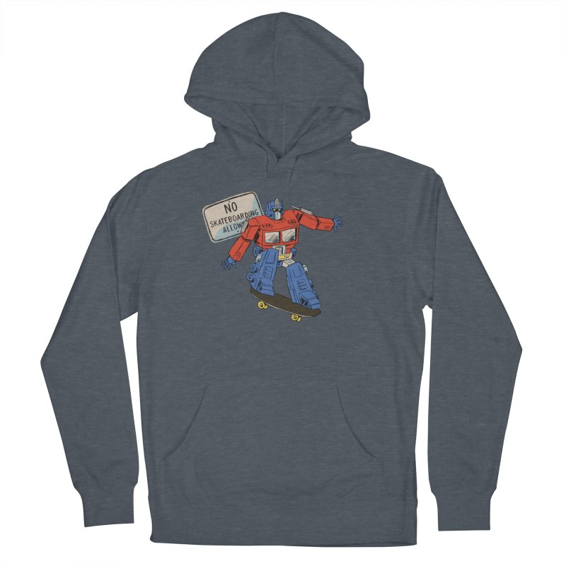 Prime SK8 Women's French Terry Pullover Hoody by Blasto's Artist Shop