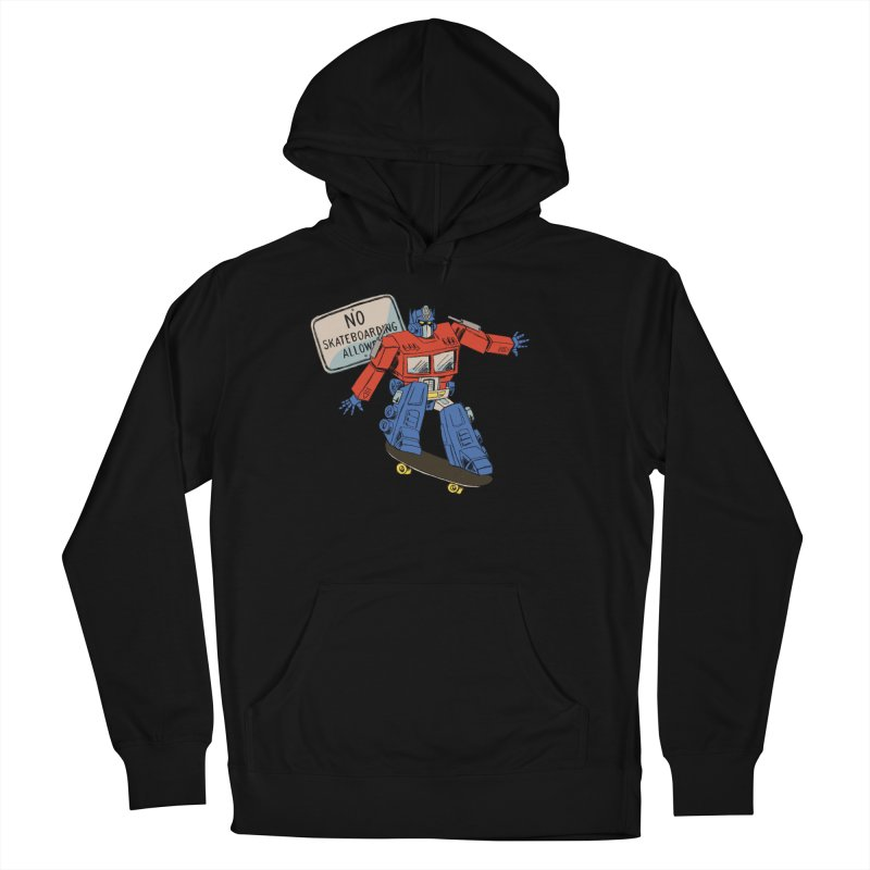 Prime SK8 Men's French Terry Pullover Hoody by Blasto's Artist Shop
