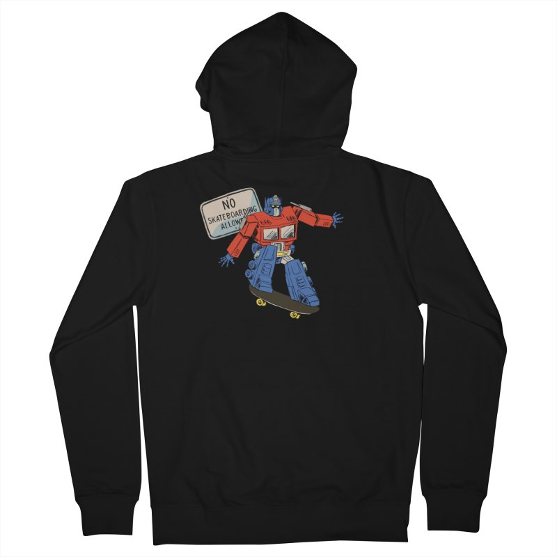 Prime SK8 Women's French Terry Zip-Up Hoody by Blasto's Artist Shop
