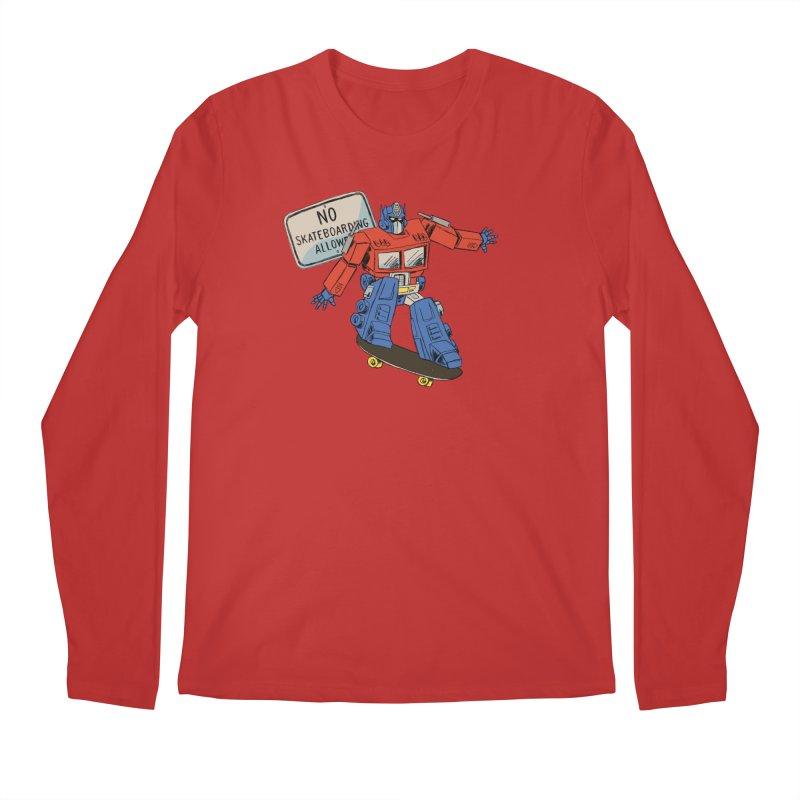 Prime SK8 Men's Regular Longsleeve T-Shirt by Blasto's Artist Shop