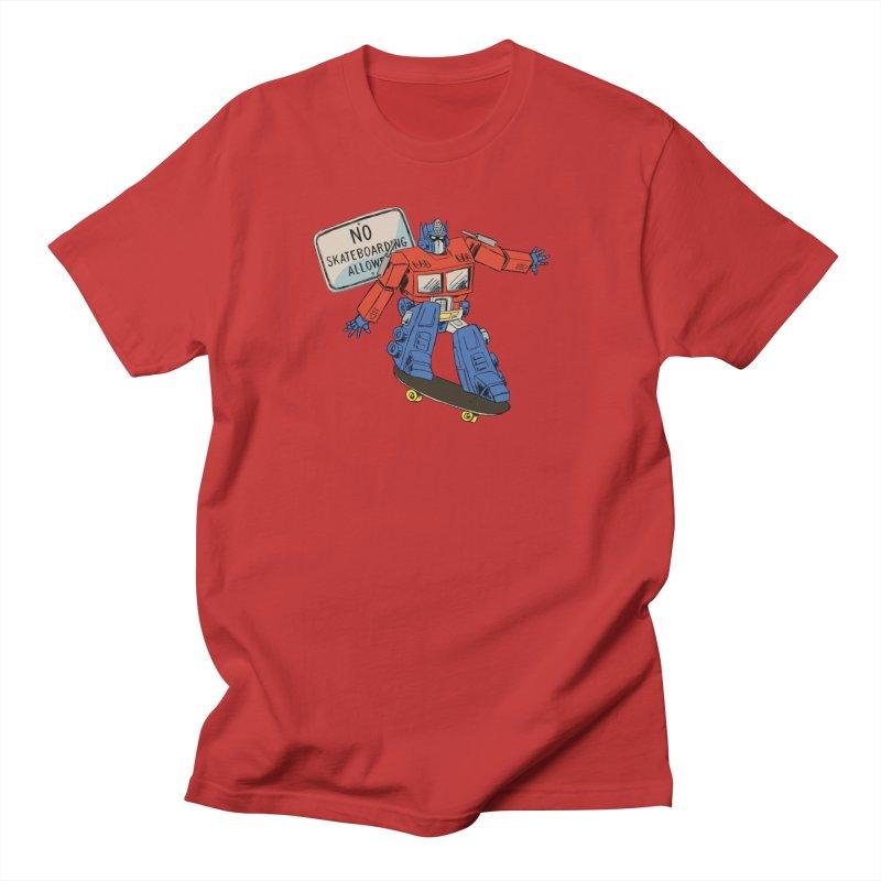 Prime SK8 Women's Regular Unisex T-Shirt by Blasto's Artist Shop