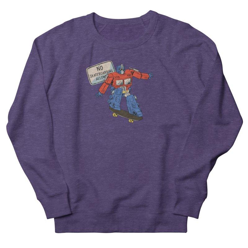 Prime SK8 Women's French Terry Sweatshirt by Blasto's Artist Shop