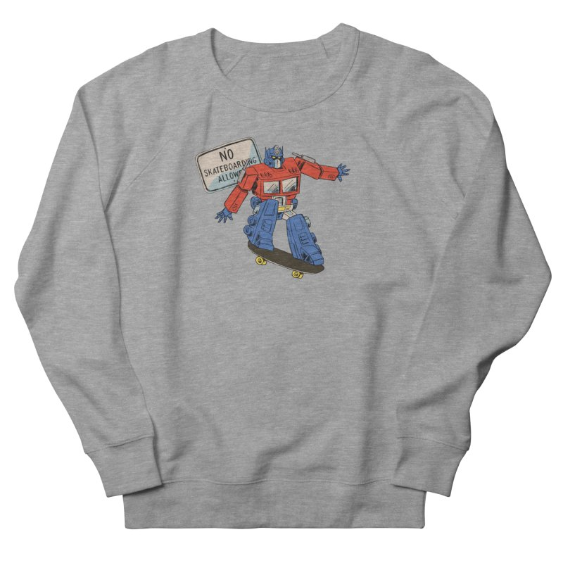 Prime SK8 Men's French Terry Sweatshirt by Blasto's Artist Shop