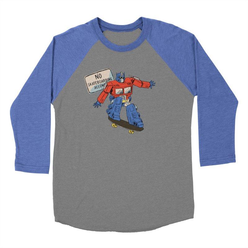 Prime SK8 Women's Baseball Triblend Longsleeve T-Shirt by Blasto's Artist Shop