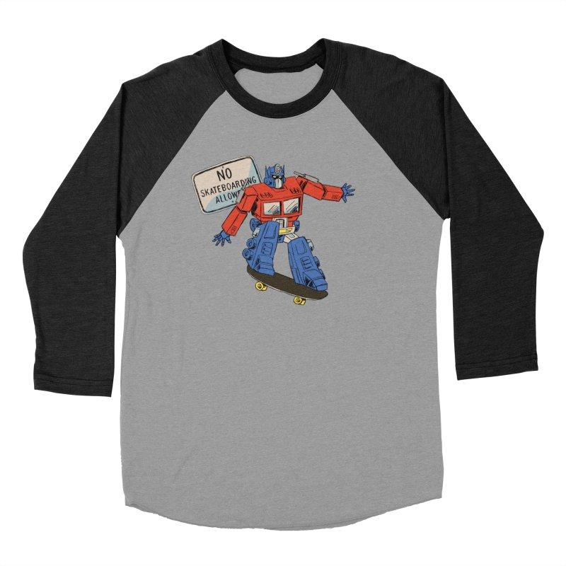 Prime SK8 Men's Baseball Triblend Longsleeve T-Shirt by Blasto's Artist Shop