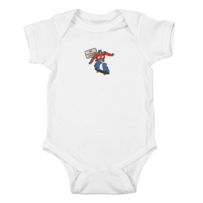 Prime SK8 Kids Baby Bodysuit by Blasto's Artist Shop