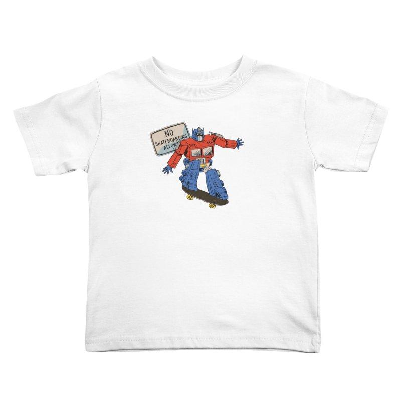 Prime SK8 Kids Toddler T-Shirt by Blasto's Artist Shop