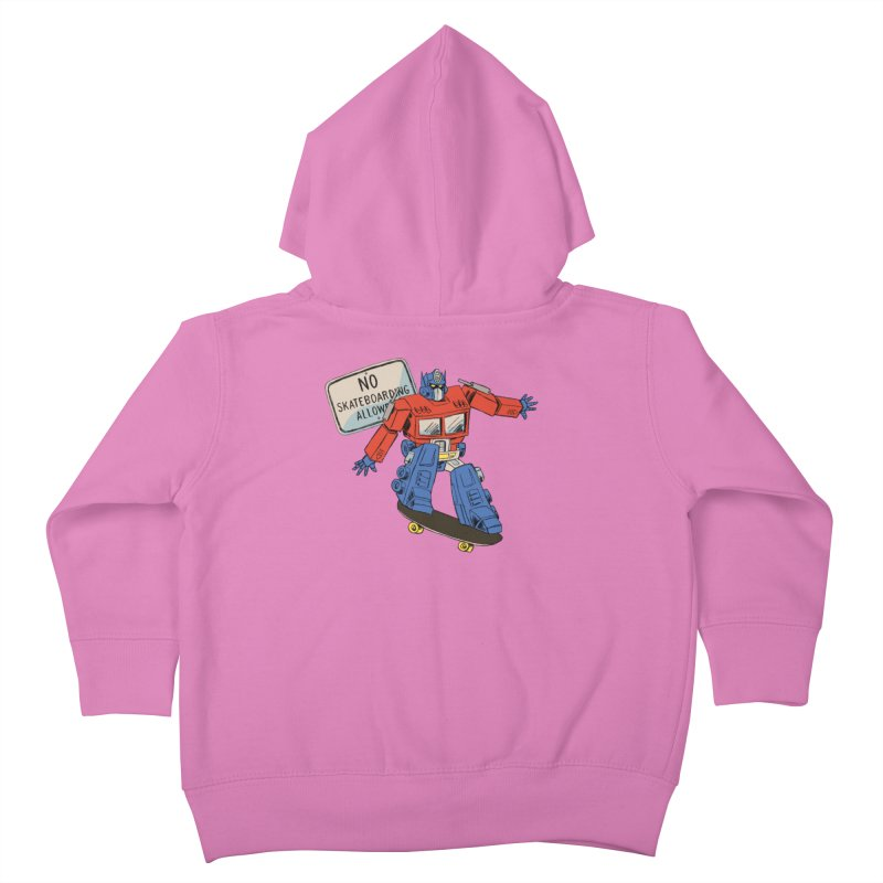 Prime SK8 Kids Toddler Zip-Up Hoody by Blasto's Artist Shop