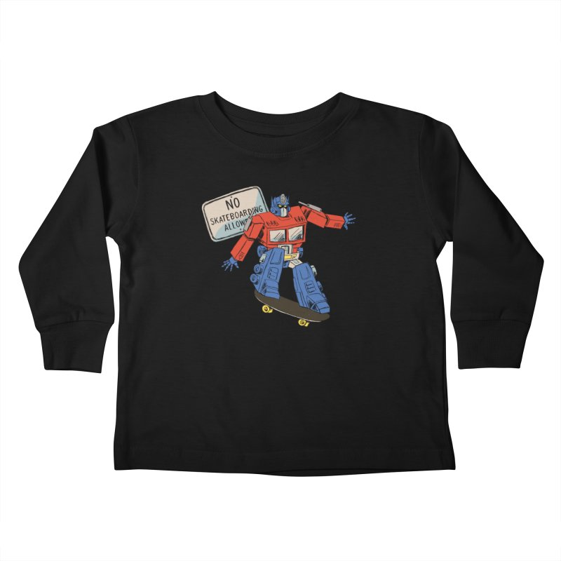 Prime SK8 Kids Toddler Longsleeve T-Shirt by Blasto's Artist Shop