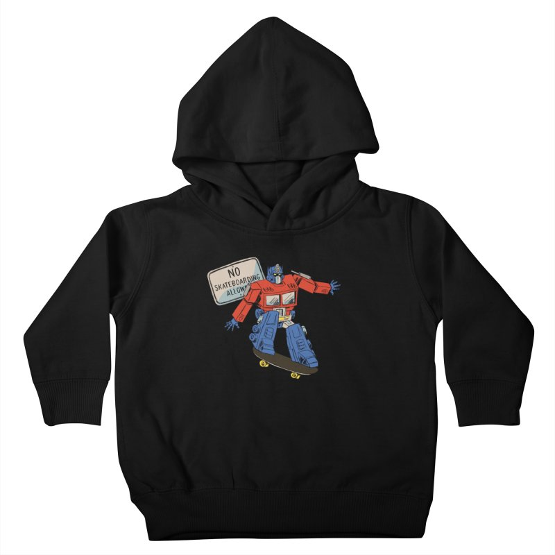Prime SK8 Kids Toddler Pullover Hoody by Blasto's Artist Shop
