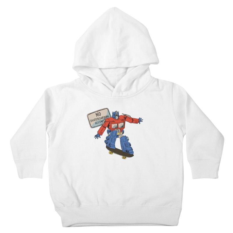 Prime SK8 Kids Toddler Pullover Hoody by Blasto's Artist Shop