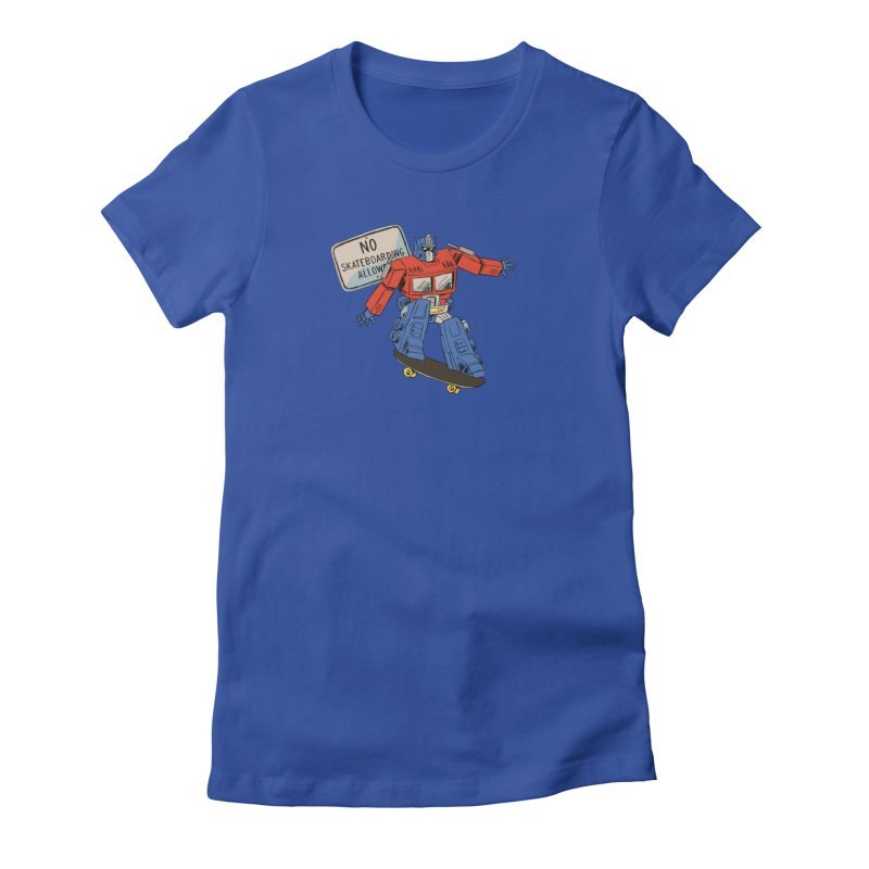 Prime SK8 Women's Fitted T-Shirt by Blasto's Artist Shop