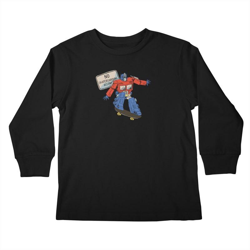 Prime SK8 Kids Longsleeve T-Shirt by Blasto's Artist Shop