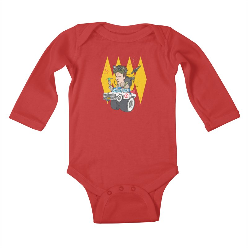 Ray Fink Kids Baby Longsleeve Bodysuit by Blasto's Artist Shop