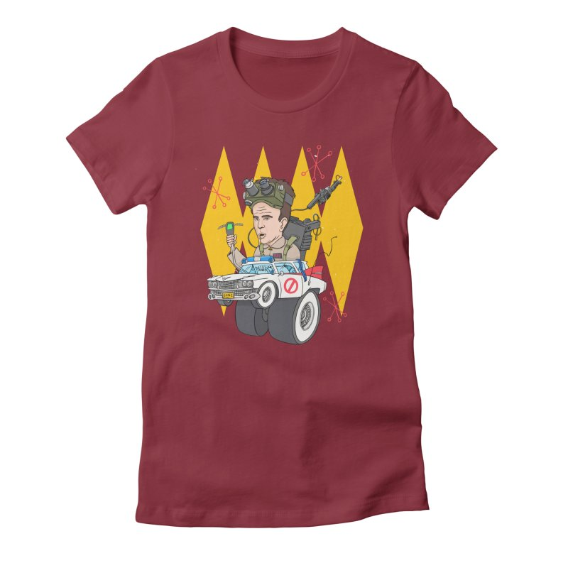 Ray Fink Women's Fitted T-Shirt by Blasto's Artist Shop