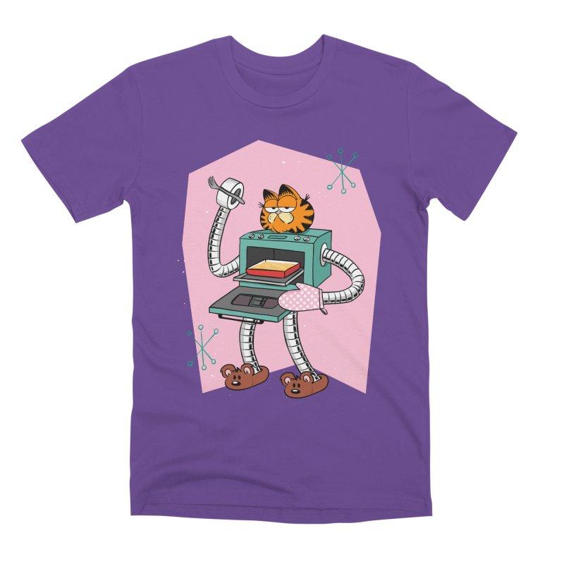 Garfield LOD (Lasagna On Demand) Men's Premium T-Shirt by Blasto's Artist Shop