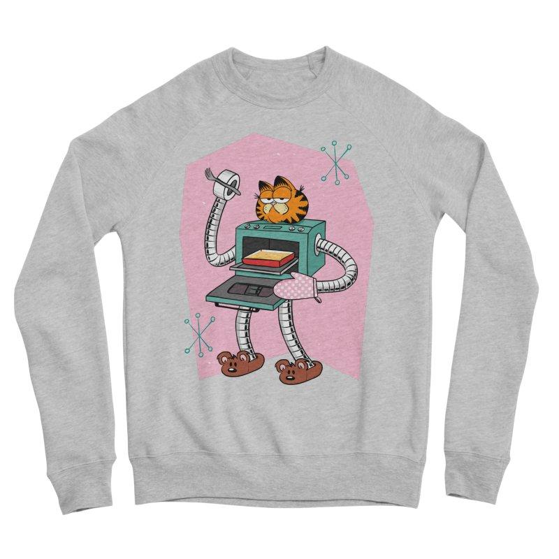 Garfield LOD (Lasagna On Demand) Men's Sponge Fleece Sweatshirt by Blasto's Artist Shop