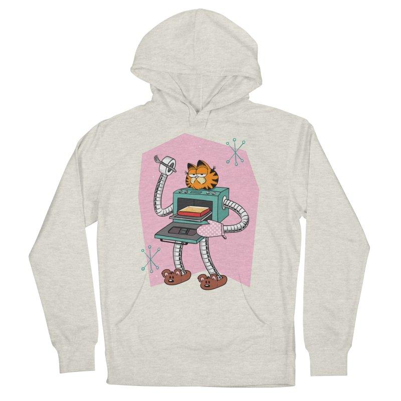 Garfield LOD (Lasagna On Demand) Women's French Terry Pullover Hoody by Blasto's Artist Shop
