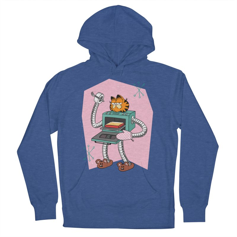 Garfield LOD (Lasagna On Demand) Men's French Terry Pullover Hoody by Blasto's Artist Shop