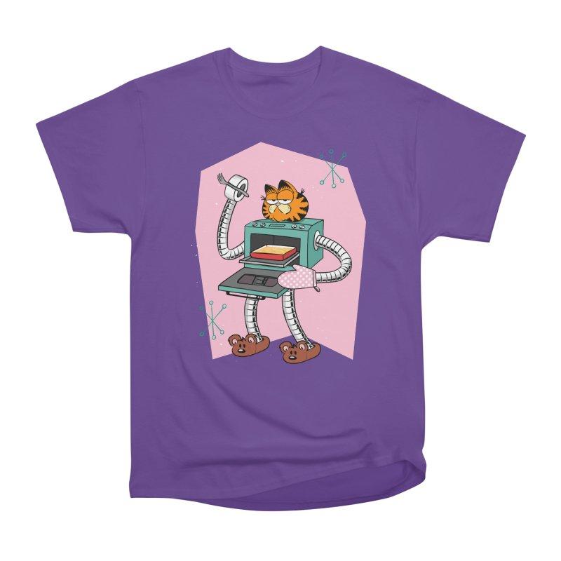 Garfield LOD (Lasagna On Demand) Women's Heavyweight Unisex T-Shirt by Blasto's Artist Shop