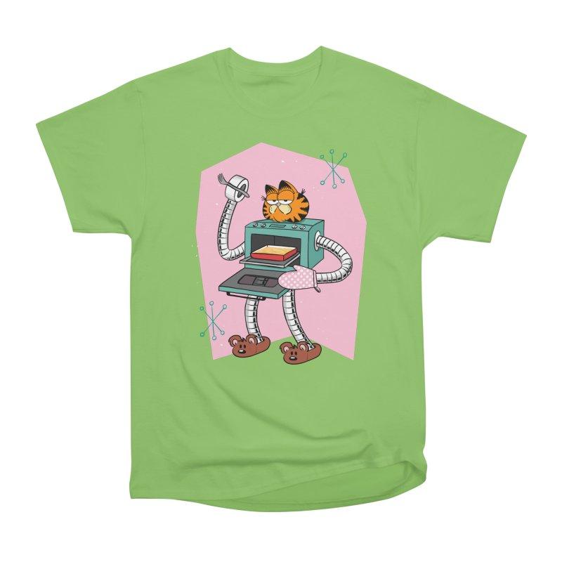 Garfield LOD (Lasagna On Demand) Men's Heavyweight T-Shirt by Blasto's Artist Shop