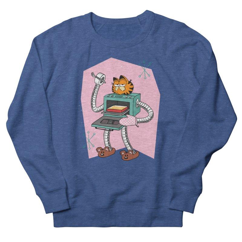 Garfield LOD (Lasagna On Demand) Women's French Terry Sweatshirt by Blasto's Artist Shop