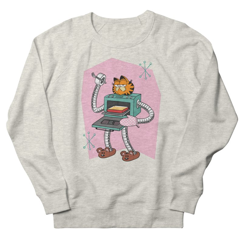 Garfield LOD (Lasagna On Demand) Men's French Terry Sweatshirt by Blasto's Artist Shop